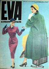 """* EVA N°43/ 21/OTT/1950 * Rivista per la donna italiana diretta da """" Sonia """" *"""