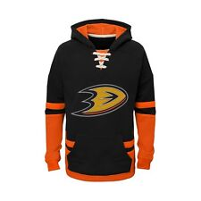 Anaheim Ducks YOUTH BOYS CCM Vintage Sweatshirt Pullover Hoody