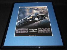 2001 Pontiac Grand Am Framed 11x14 ORIGINAL Advertisement