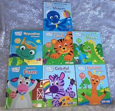 Baby Einstein my first smart pad hardcover books. lot of 7.