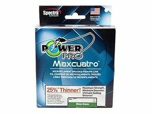 Power pro Maxcuatro Tressé Powerpro Vert 135 M 150 YD 0,19 0,23 0,28 MM