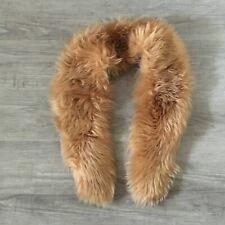"Women's Brown  Faux Fur Collar  43"" X 6"""