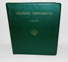 More details for training supplements scouting for cub scouts 1968-1976  vintage manual