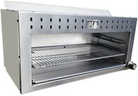 """NEW 36"""" Commercial Cheese Melter by Ideal Cooking Products. Made in USA. ETL lis"""