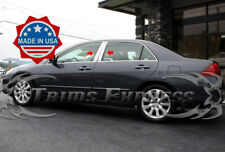 2003-2007 Honda Accord 4Pc Chrome Pillar Post Trim Stainless Steel Door Cover