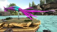 ark survival evolved XBOX PVE Male Cotton Candy Squid Clone with Saddle