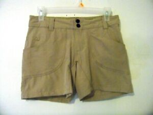 Womens Alpine Design Beige Hiking Shorts Size 2 EUC!!!