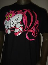 Nwt Mens Medium Alice In Wonderland The Cheshire Cat Grin Smile Disney Tee Shirt