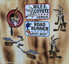 Retro pegatinas set 7st. coyote Roadrunner/Plymouth/Chevy pickup/Sticker