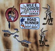 Retro Aufkleber Set 7St. Coyote Roadrunner / Plymouth / Chevy Pickup / Sticker