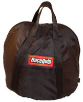 RaceQuip Helmet Bag - Fleece Lined - Zipper Closure - Nylon - Black - Each