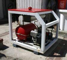 Thomas 2 Cylinder Scuba Diving Hookah Air Compressor 5hp Tecumseh Gas Engine