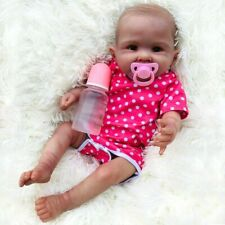 Reborn Baby Doll FULL Body Silicone Dolls 55cm Toy Gift Toddler Super Real Toys