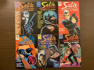 Sable Return of the Hunter 1-6 High Grade First Comics Lot Set Run CL49-87