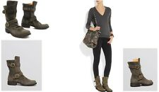Fiorentini + Baker Emmy Grey Suede Women's Boot US 9.5 / 39.5 Italy