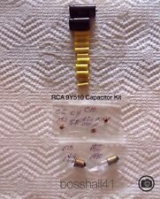 RCA 9Y510 A.M. RADIO & 45 RECORD PLAYER COMBO REPLACEMENT CAPACITOR KIT