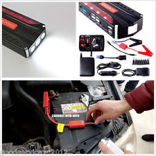 High Capacity 68800mAh Autos Jump Starter Emergency Battery Power 4-USB Charger