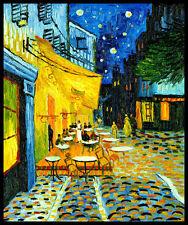 Vincent Van Gogh FRIDGE MAGNET Cafe Art Poster 11.5x13.5 Magnetic Canvas Print