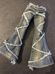 "Bratz 10"" Doll Clothes Nona Twiins Blue Denim Jeans"