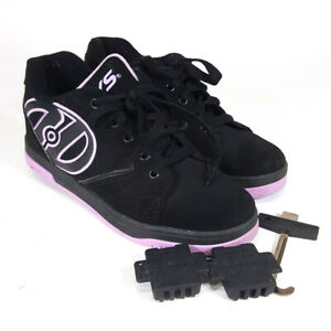 Heelys Propel 2.0 Youth Girls Size 5 Black And Purple Women US 6 UK 4 EUR 36.5