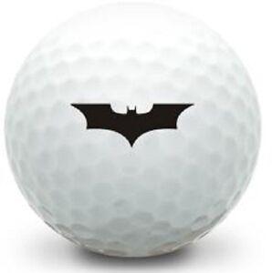 1 Dozen Dark Knight Batman Wings LOGO Wilson Mint AAAAA Golf Balls