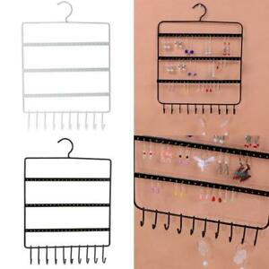 Jewelry Display Hanging Earring Necklace Ring Hanger Holder Rack Storage Decor