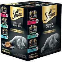 Sheba Perfect PORTIONS Cuts in Gravy Entrée Wet Cat Food - Seafood