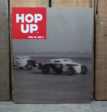 HOP UP MAGAZINE V13 2 HOT ROD BOOK EARLY CUSTOMS TROG ARDUN FLATHEAD VTG PHOTOS