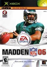 XBOX Madden NFL 06 Video Game 2006 online multiplayer ea sports football