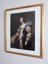 Maria LUISA DE TASSIS-incorniciato stampa litografica-Anthony VAN DYCK