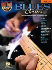 Blues Classics Guitar Play Along 8 Songs! Tab Book Cd NEW!