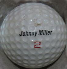 (1) JOHNNY MILLER SIGNATURE LOGO GOLF BALL (MACGREGOR COVER SURLYN CIR 1970) #2