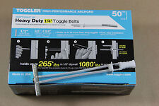 250 Each Toggler SnapToggle  Size: BB 1/4-20 Screw Size Toggle Bolt  25014 50/bx