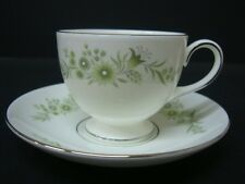 WEDGWOOD WESTBURY TEA CUP AND SAUCER HARDLY USED