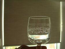 6 Verres cristal D'Arques Matignon ciselés liqueur