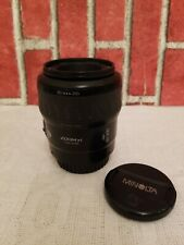 Minolta Maxxum AF 80-200mm f4.5-5.6 Zoom Xi Lens Japan 1991 used