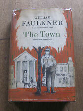THE TOWN by William Faulkner - 1st/1st HCDJ 1957 - $3.00 Snopes Trilogy