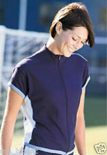 BLUE & WHITE SWEAT FREE SHORT SLEEVE,ZIP UP,BREATHABLE,QUICK DRY SPORTS JACKETS