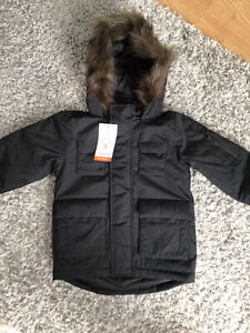 LITTLE BOYS PARKA COAT AGED 3/4 YEARS FROM M&S BNWT  RRP £36
