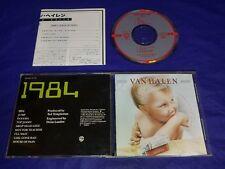 Van Halen 1984 Japan CD 1984 32XD-313 Out Of Print