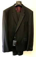 "Paul Smith CHARCOAL GREY Suit LONDON FLORAL Slim Fit UK44R Chest 44"" Waist 37"""