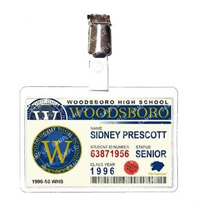 Scream Woodsboro Student Sidney Prescott Cosplay Film Prop Comic Con Halloween