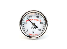 SA-200 Engine Water Temp Thermometer Direct Mount Shock Proof 0-250F BW1742-KE
