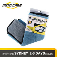 Autocare Microfibre Drying Towel Kitchen Cleaning Car Polish Wax Cloth 45x38cm