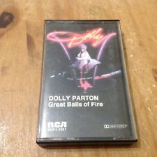 Dolly Parton Great Balls Of Fire Cassette Tape