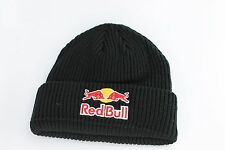 RED BULL NOT NEW ERA BLACK BEANIE 100% AUTHENTIC BRAND NEW ATHELTE ONLY