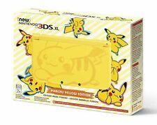 Nintendo 3DS XL Pikachu Edition 4GB Yellow Handheld System