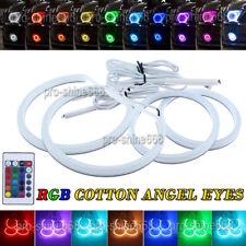 Angel Eyes Halo KIT Cotton 7000K RGB For BMW E36 E38 E39 E46 ti td Ci X3 X5 Z3