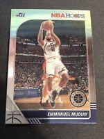 Emmanuel Mudiay 2019-20 Panini NBA Hoops Premium Stock 🏀 Base #124 Utah Jazz