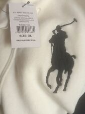 New Ralph Lauren Polo Genuine USA Limited Edition Shawl Neck CREAMWHITE Cardigan